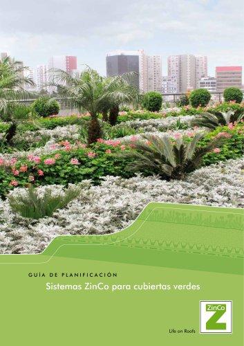 Sistemas ZinCo para cubiertas verdes