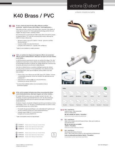 K40 Brass / PVC