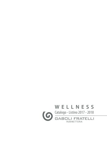 Catalogue Wellness 2017