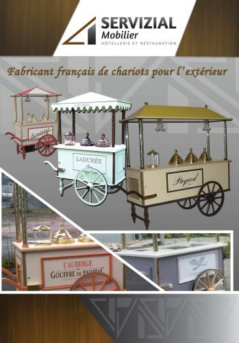 OUTDOOR CARTS and ICE CREAM CARTS