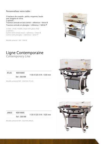 tables refrigerees Ligne Contemporaine
