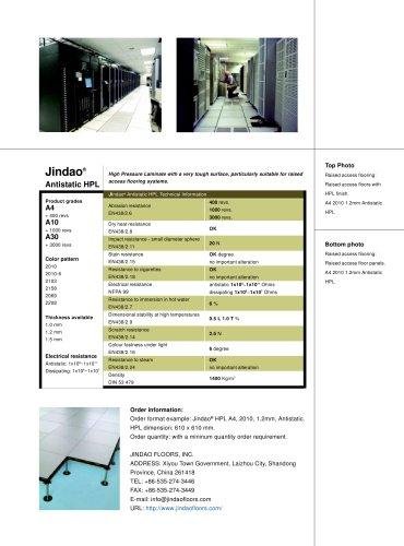 CamassCrete® Low Profile Cable Management Access Floor