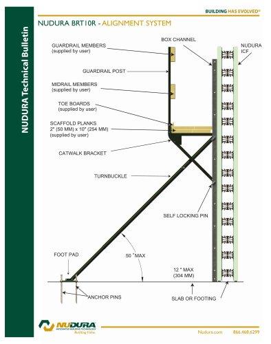 NUDURA BRT10R - ALIGNMENT SYSTEM