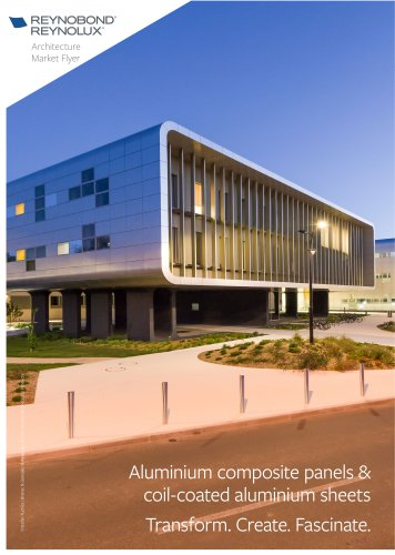 Aluminium composite panels and sheets for architectural projects