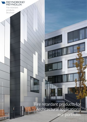 Our fire products for aluminium facades and roofs cladding