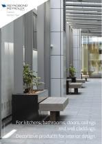Reynobond / Reynolux Interior - Aluminium panels and sheets for interior applications
