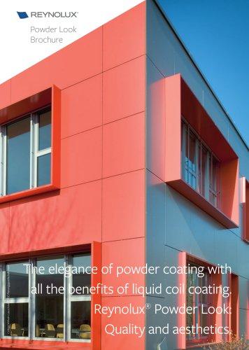 Reynobond / Reynolux Powder Look: Quality and aestetics with aluminium