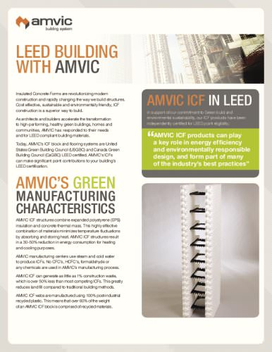 LEED BUILDING WITH AMVIc