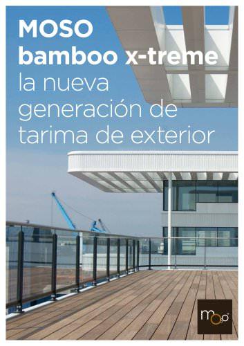 Bamboo X-treme - Tarima de Exterior