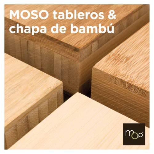 MOSO tableros & chapa de bambú
