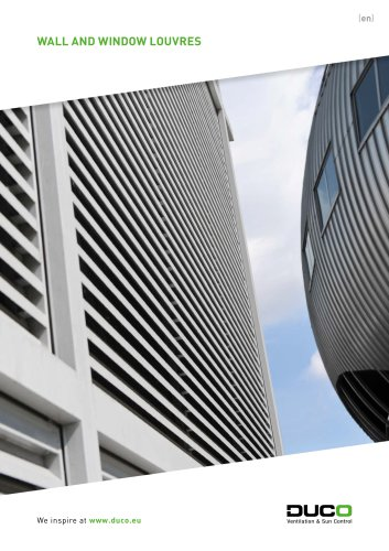 Wall and window louvres