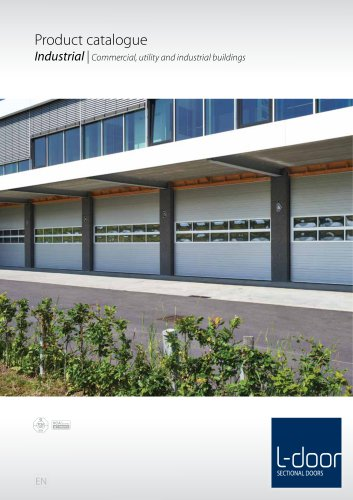 Product catalogue Industrial   Commercial, utility and industrial buildings