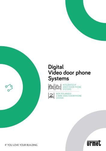 Digital Video door phone Systems