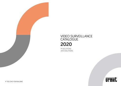 VIDEO SURVEILLANCE CATALOGUE 2020