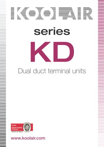 Air Volume Boxes – Series KD