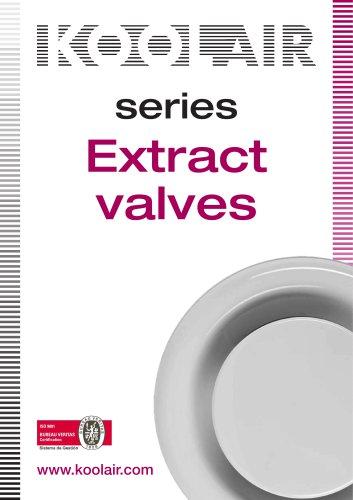 Extract valves – Series GPD