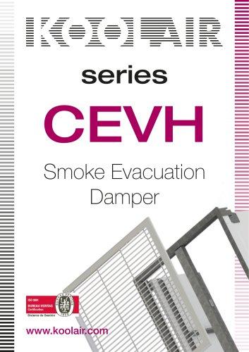 Series CEVH Smoke Evacuation Damper