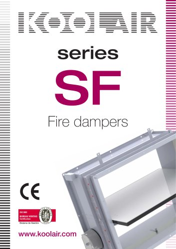 Series SF Fire dampers