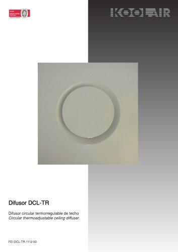 Thermo-adjustable circular diffuser – DCL TR