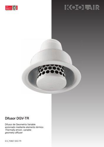 Variable geometry diffuser – DGV-TR