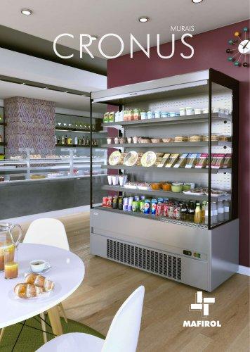 Línea CRONUS - murales y semi murales refrigerados