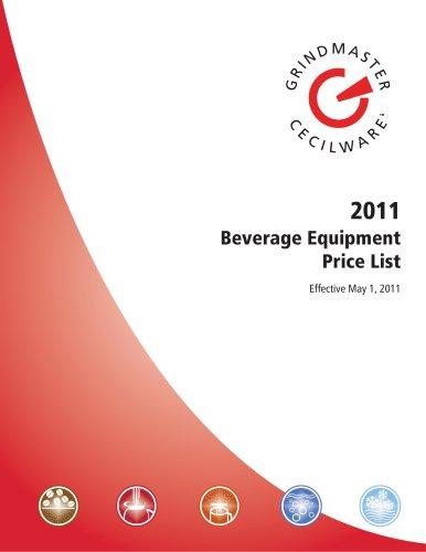 2011 Grindmaster-Cecilware Beverage Equipment