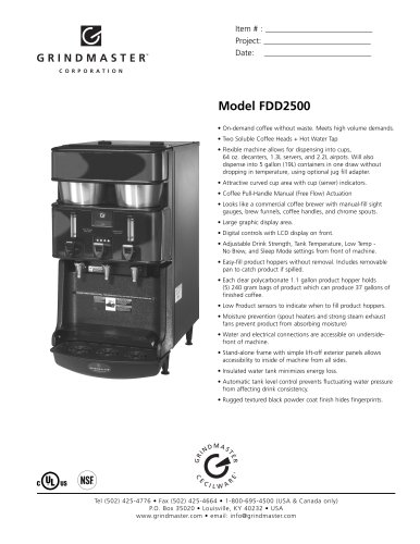 FDD2500