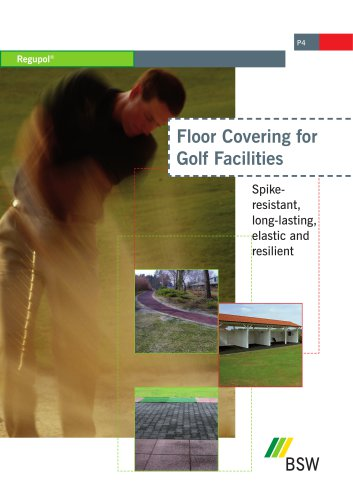 Floor Coverings for Golf Facilities