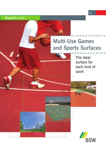 Regupol® Multi-Use Games and Sports Surfaces