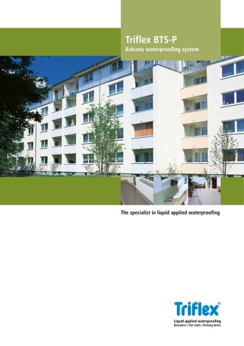 System brochure Triflex BTS-P