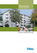 System brochure Triflex ProDrain