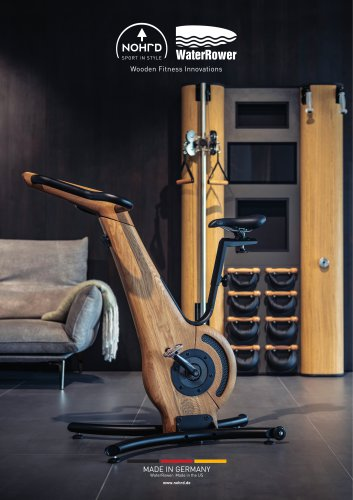 WaterRower NOHrD - Wooden Fitness Innovations