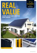 REAL VALUE Leading solar power solutions from Germany
