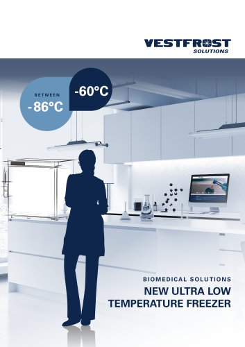 NEW ULTRA LOW TEMPERATURE FREEZER