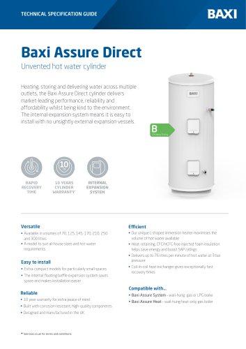 Baxi Assure Direct