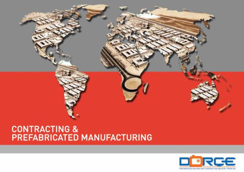 CONTRACTING & PREFABRICATED MANUFACTURING
