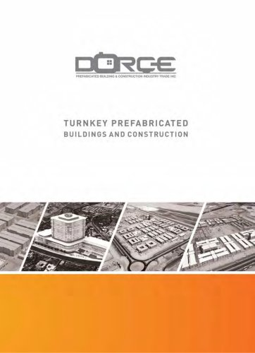 TURNKEY PREFABRICATED BUILDING AND CONSTRUCTION