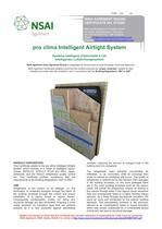 pro clima Intelligent Airtight System