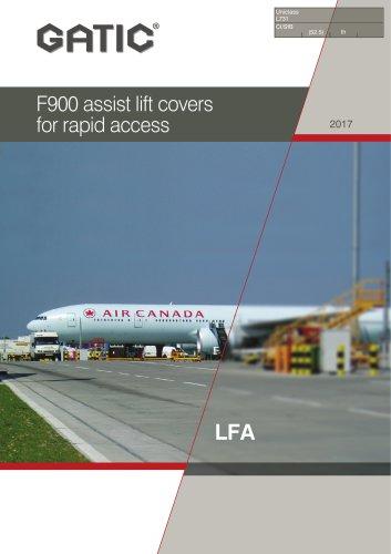 F900 assist lift covers