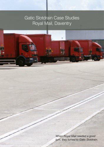 Gatic Slotdrain Case Studies Royal Mail, Daventry
