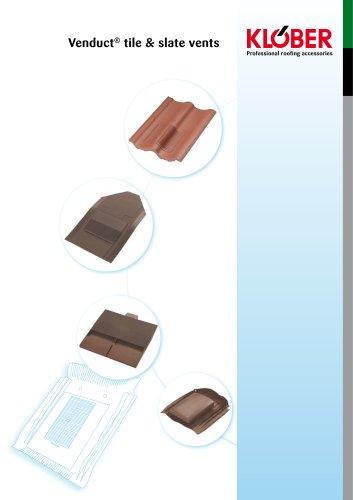 Venduct® tile & slate vents