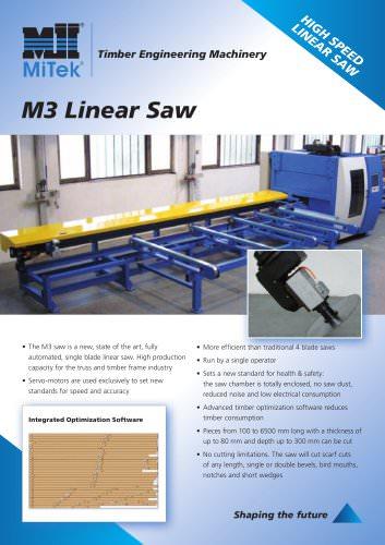M3 Linear Saw