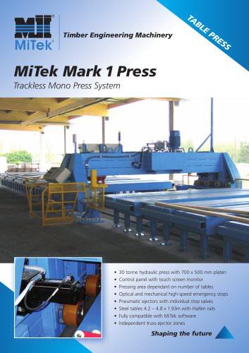 Trackless Mono Press System