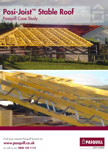 Posi-Joist - Stable Roof Pasquill Case Study