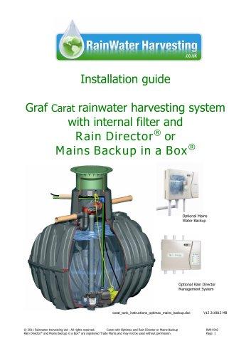 carat assembly instructions Rainwater Harvesting.co.uk 'Fitting a Carat Tank'