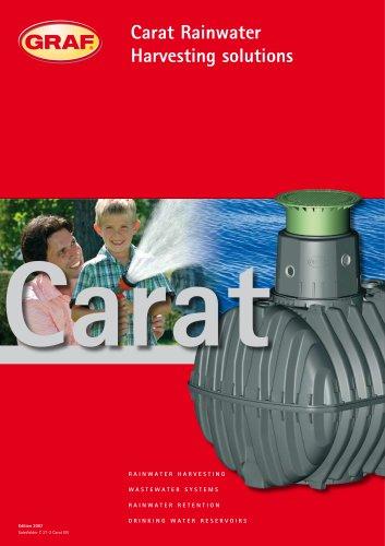 Carat Rainwater Harvesting solutions