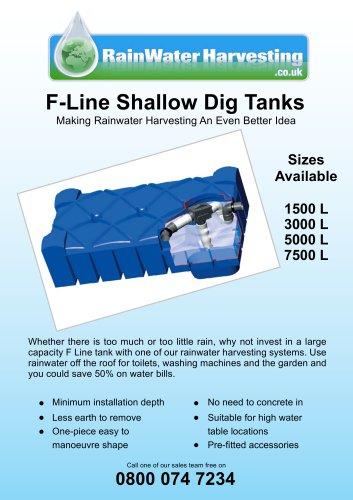 F-Line Shallow Dig Tanks