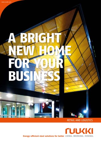 A BRIGHT NEW HOME FOR YOUR BUSINESS