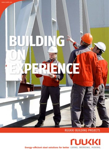 Building projects - Building on experience brochure