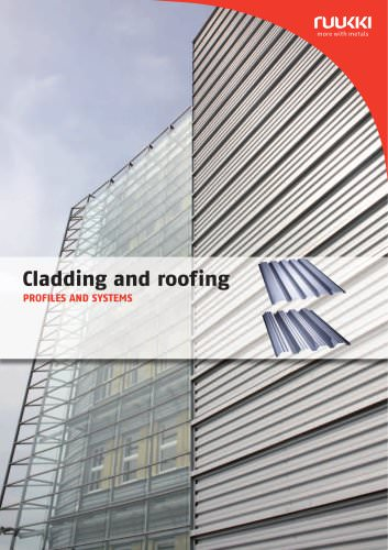 Cladding and roof ing PROFILES AND SYSTEMS